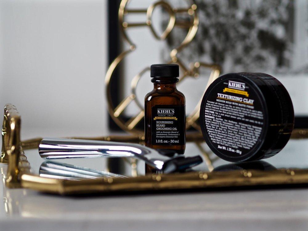 Aceite para la barba - Kiehl's Nourishing Beard Grooming Oil