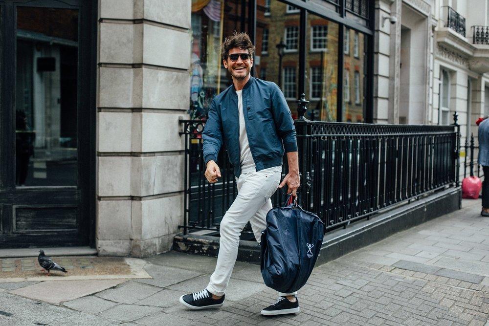 ¿Cómo usar? - jeans blancos