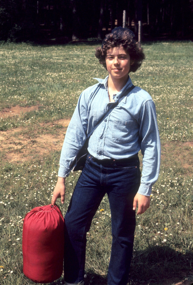 Hiking, camping, and making mischief in the 70s.