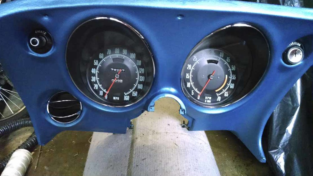 Dashboard restoration