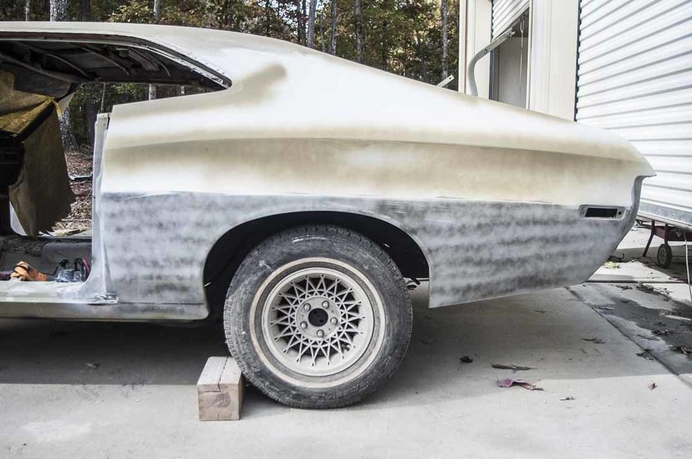 Quarter panel repair