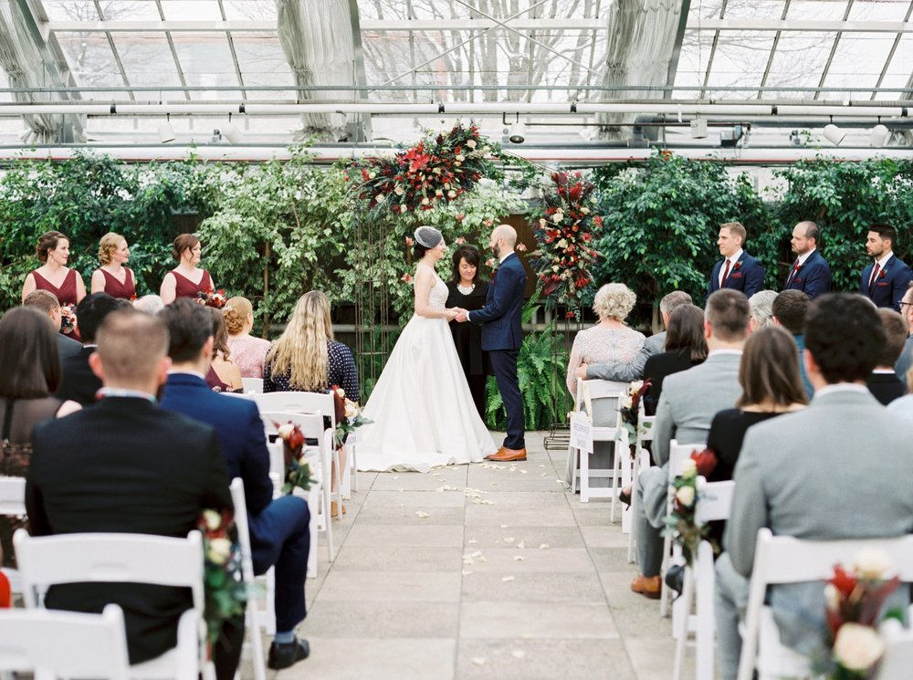 MSU Horticulture Gardens Wedding, MI Film Wedding