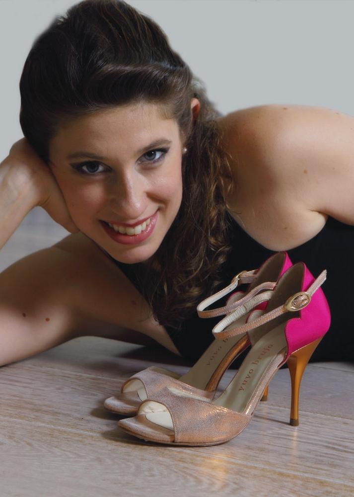 Stefania Colina and shoes (Yuyo Brujo) - click to shop