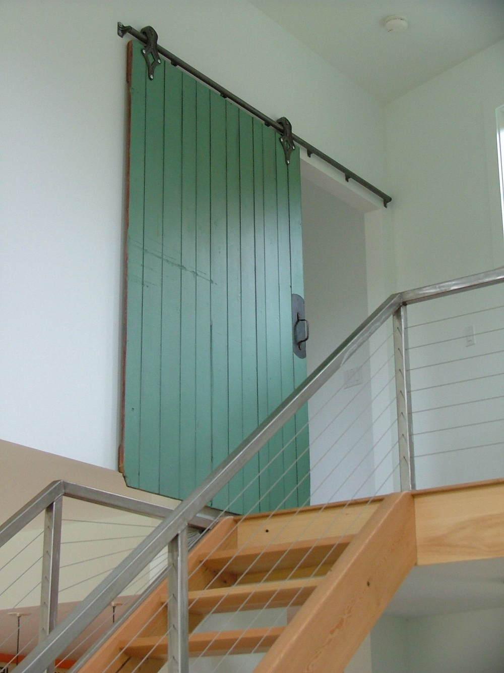 Houzz: Technicolor Interior Doors