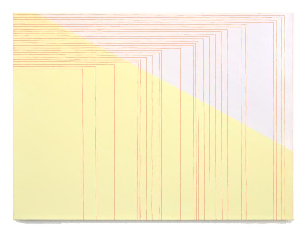 Pennachio screen[1510], 2015   oil on canvas 22 x 30 in