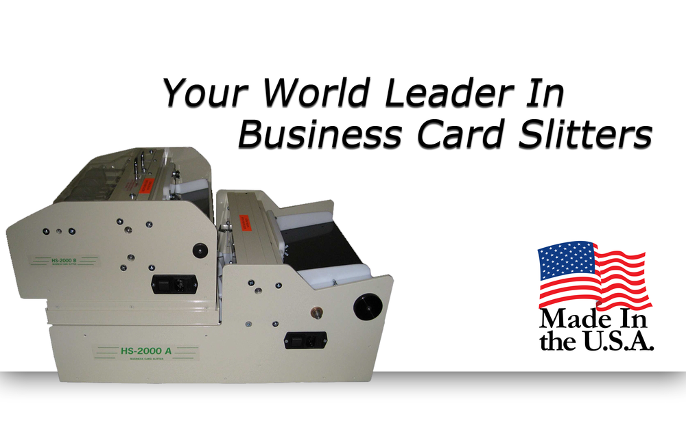 Sun Enterprises Usa Quality Business Card Slitters And Cutters