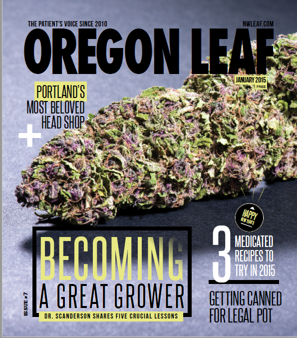 Oregon Leaf Magazine - Jan 2015