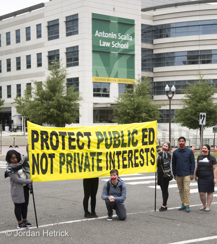GMU COMMUNITY RESPONDS TO KOCH'S LAW SCHOOL BUY-OUT