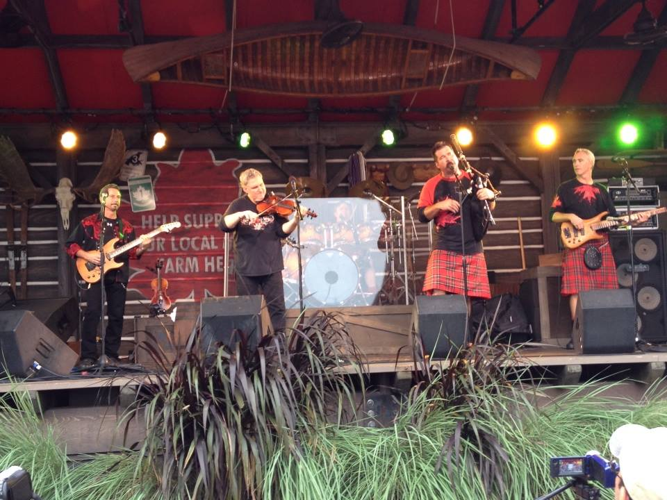 Off-Kilter performs for one of the final times at Epcot's Canada Pavilion - September 26th, 2014