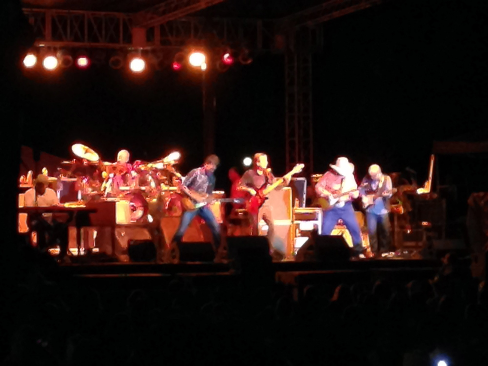 The Charlie Daniels Band tearing it up!