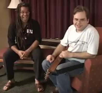 With Stephen Seifert in 2007