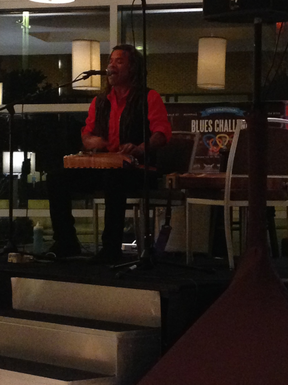 Performing in the quarterfinals at the Westin in Memphis.