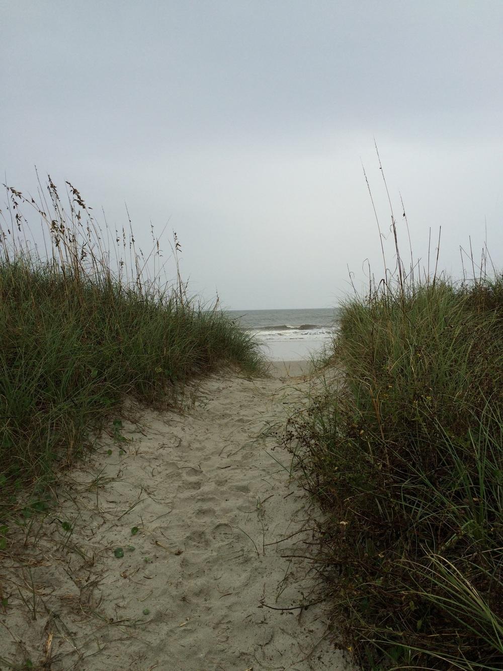 Hello, beach.
