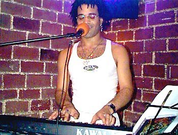 Performing at Java Jabbers, Orlando, Florida - 1998