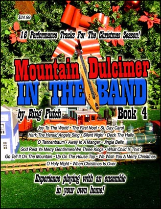 DIGITAL MUSIC DOWNLOAD: Mountain Dulcimer In The Band (Book 4) MP3 Audio  Files