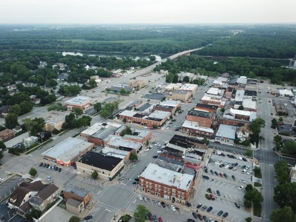 Downtown Morris, Illinois