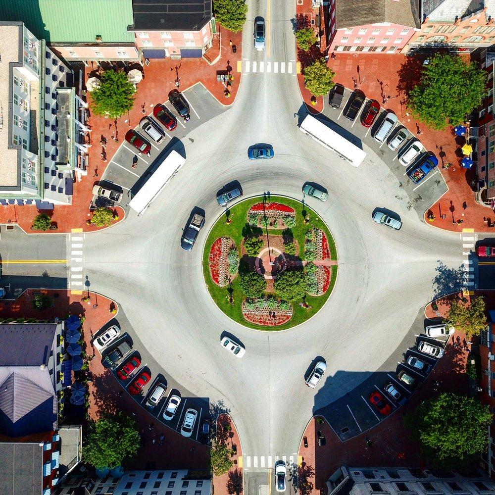 Lincoln Square - Gettysburg, Pennsylvania.