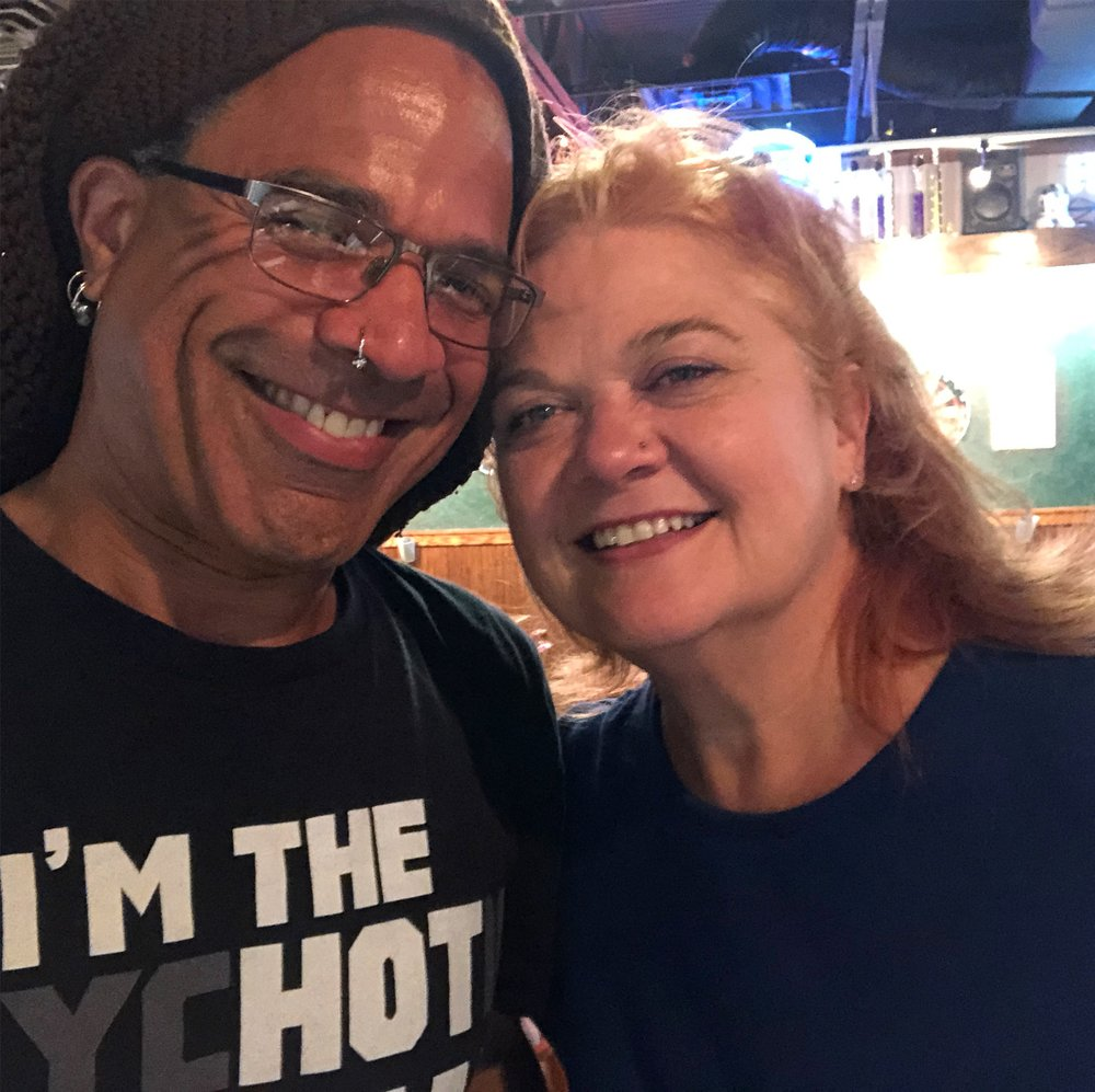 Back with my honey after 88 days on the road!