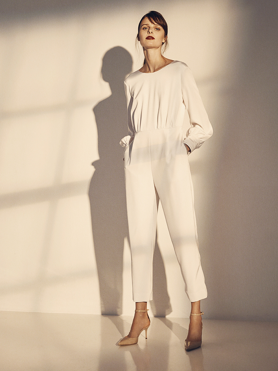 WALTER JUMPSUIT   STRETCH SILK CHARMEUSE     Contact for inquiry