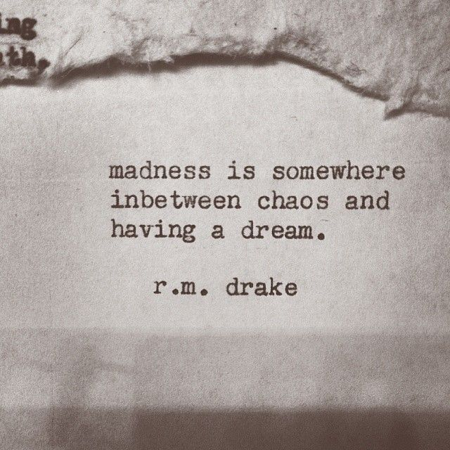 Quote and image by  r.m. drake