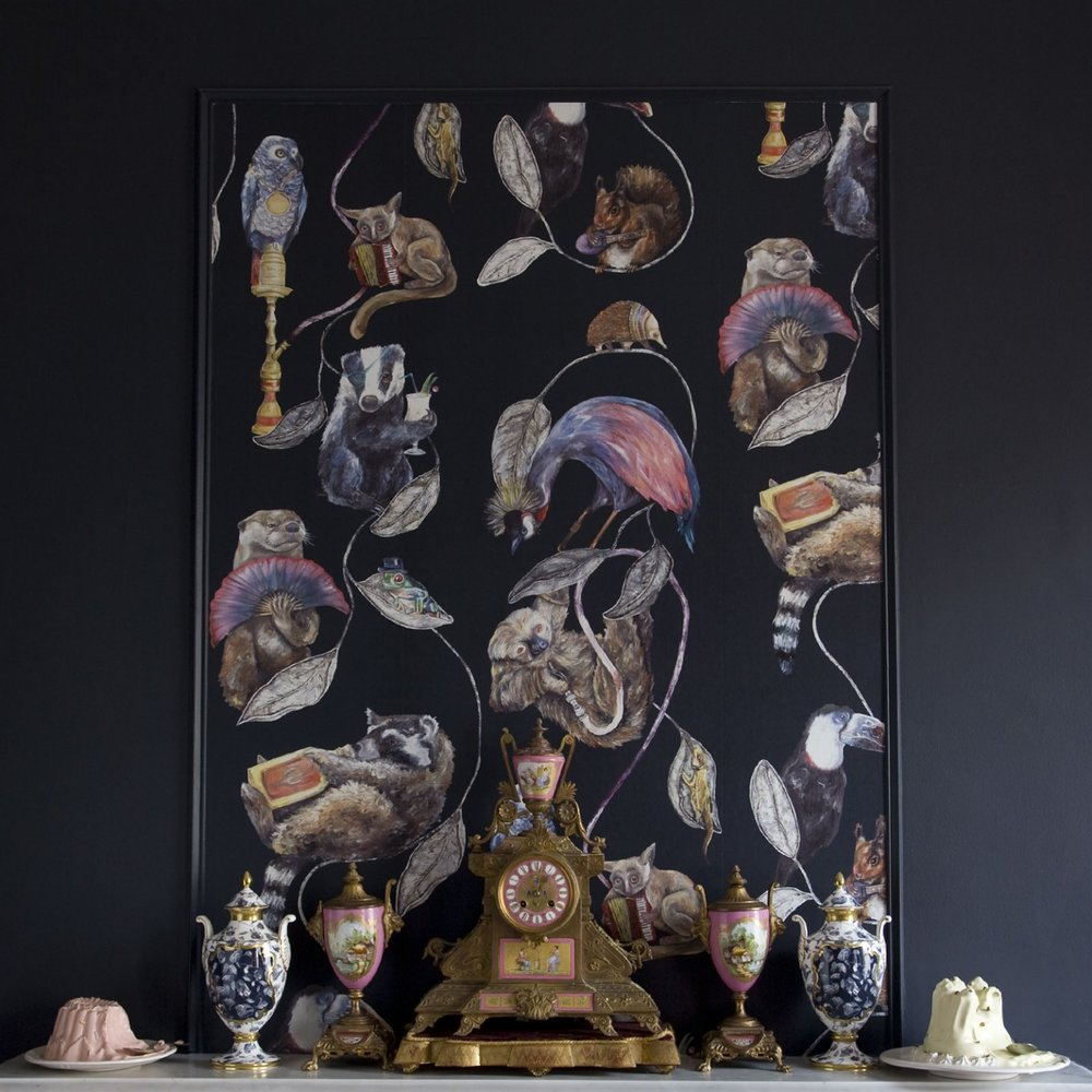 Hackney Empire Wallpaper  by House of Hackney