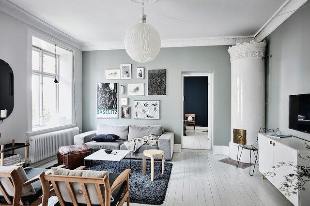 Image via  my scandinavian home