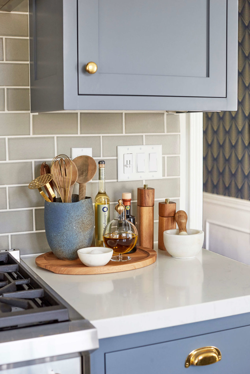 Kitchen Styling via  Emily Henderson