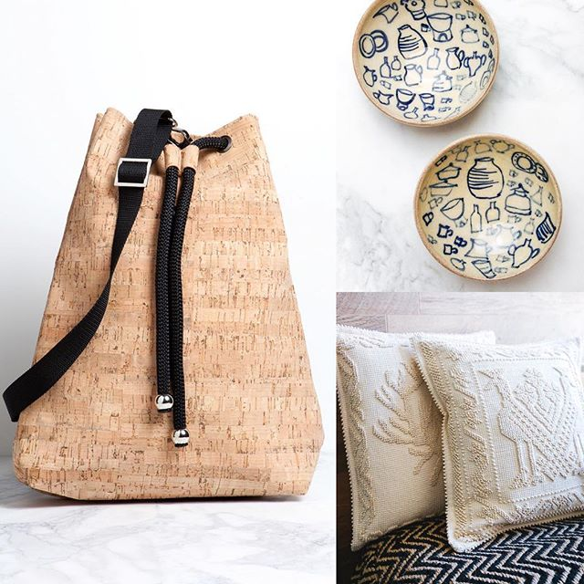 SOLD OUT! Our cork bag, pillows and smallest Lembesis ceramics are all gone! Visit the shop now to see what left 👆🏼!!