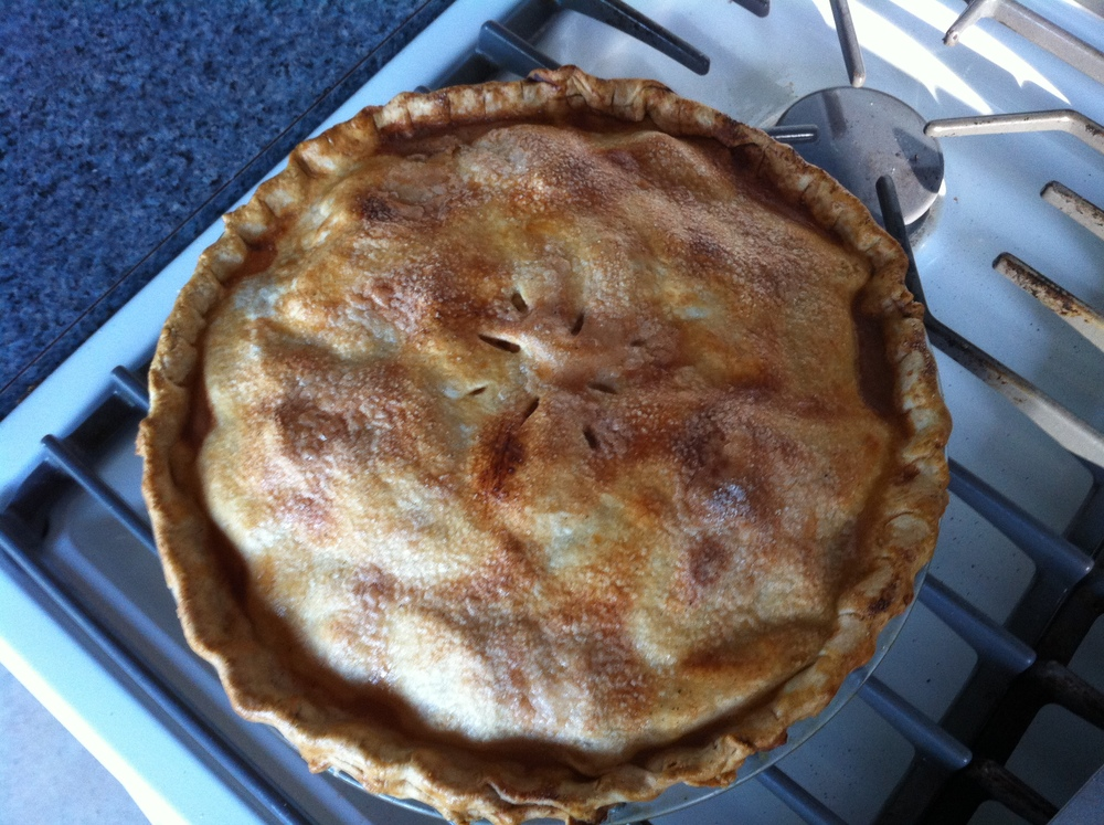 Great day to make an apple pie!