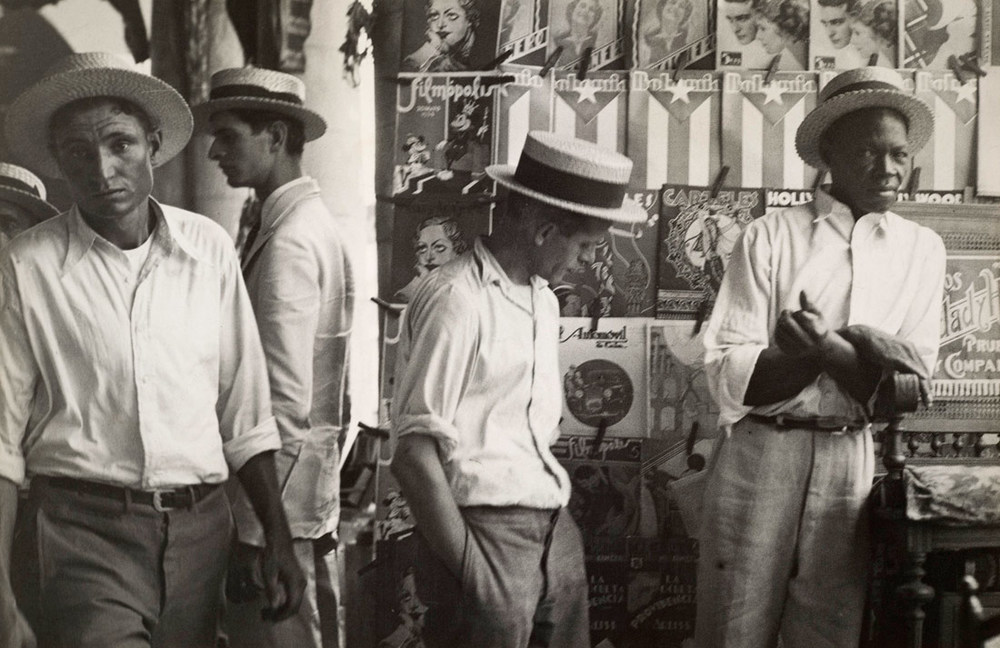 Walker Evans   (1903–1975)   People in Downtown Havana   1933   Gelatin silver print   © Walker Evans Archive, The Metropolitan Museum of Art   The Metropolitan Museum of Art, Gift of Lincoln Kirstein, 1952, 52.562.7