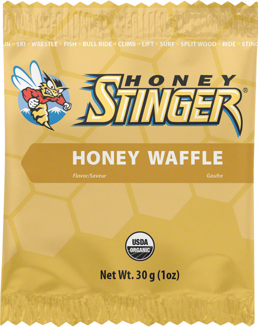 3.) Honey Stinger Honey Waffle