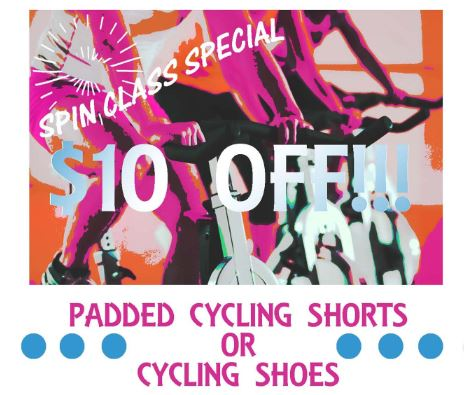 Shoals Area Spin Class Special
