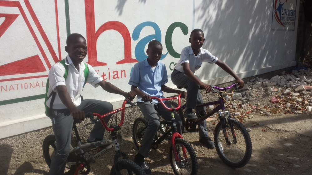 Bikes in Haiti