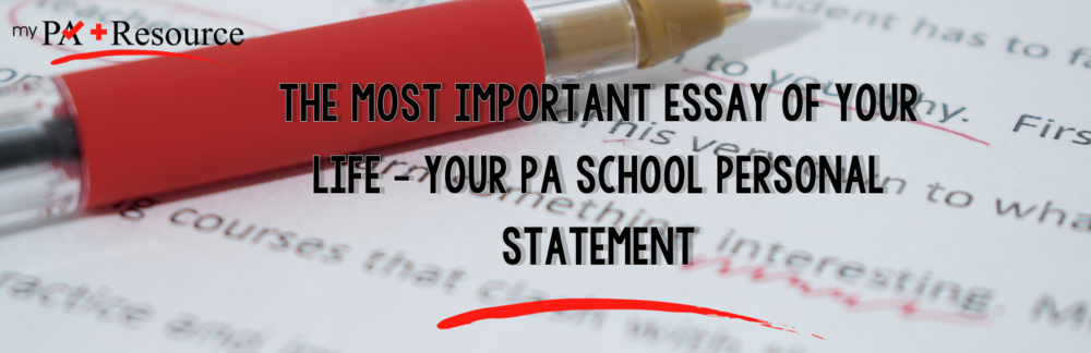 What will to contribute to our PA program essay