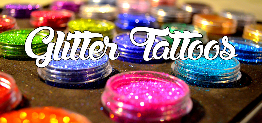 glitter tattoos sparkle tattoos