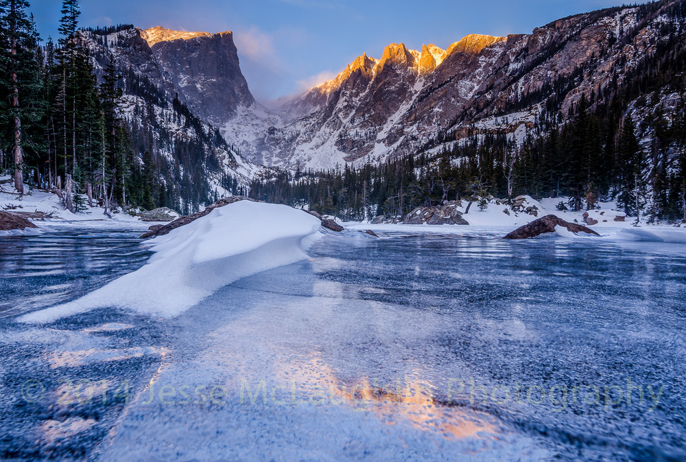 Reflections on Dream Lake