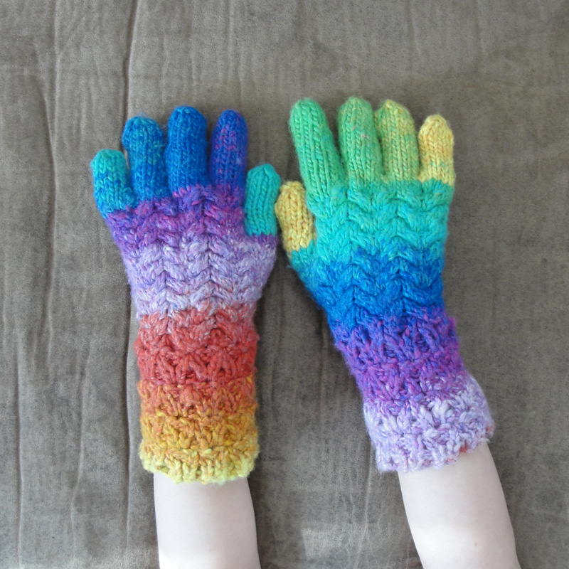 Mermaid Tails And Dragon Scales Mixnmatch Gloves Mittens And