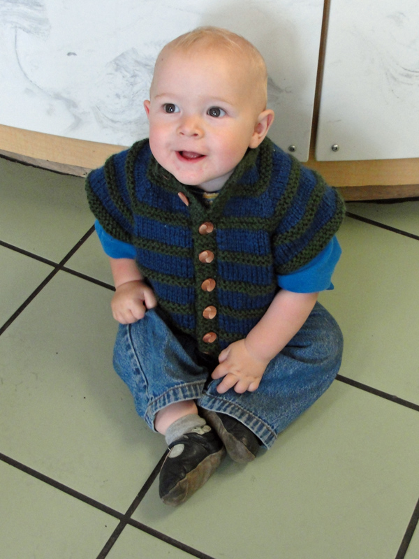 Baby Mandarin Jacket