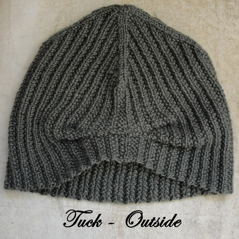 Brock Beanie - Long, Slouchy with tuck