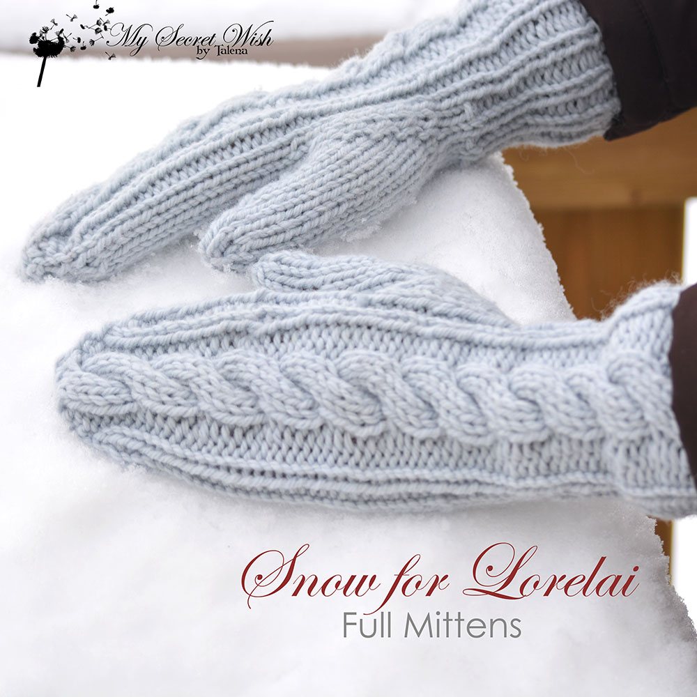 Snow for Lorelai knitting pattern