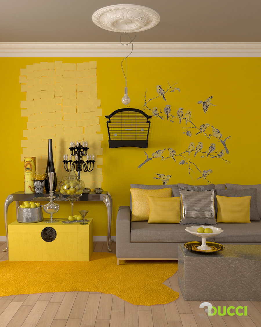 Natural Lemon Room by Aspa