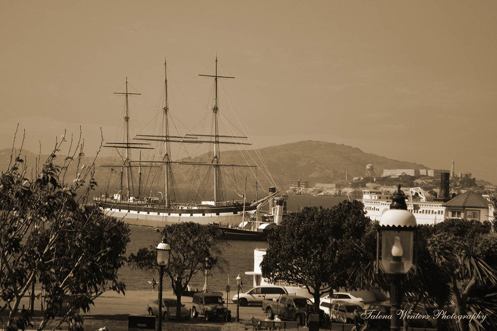 Historic Ship on the Bay