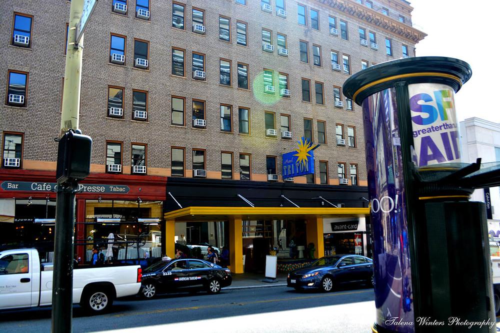 Hotel Triton facade
