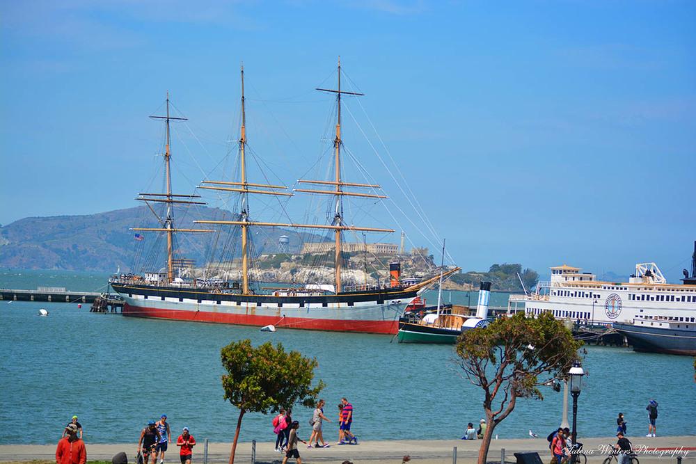 Ships at port