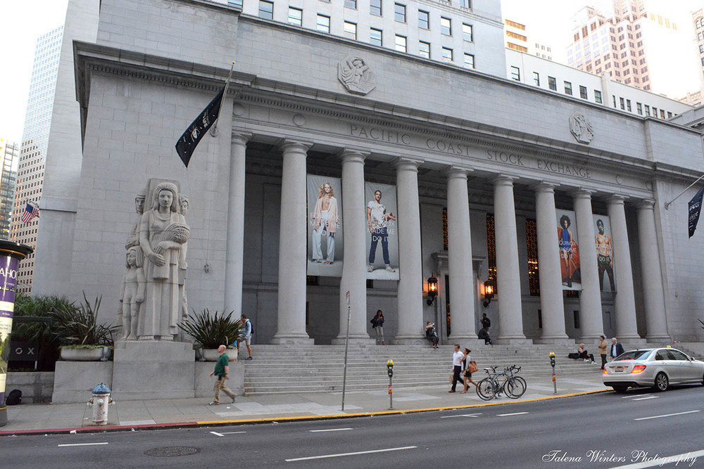 Pacific Coast Stock Exchange building