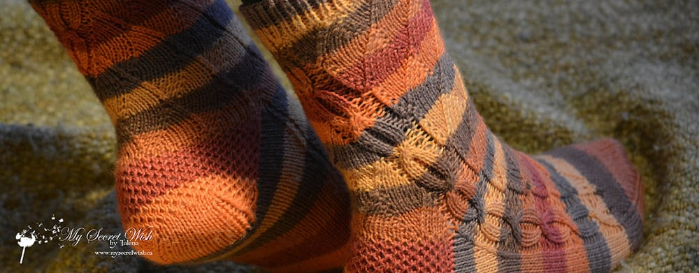 New Pattern Release   Jill and the Bean Socks    See More