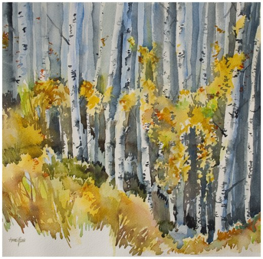 """Golden Afternoon"" by Angela Fehr. Purchase from her gallery here."
