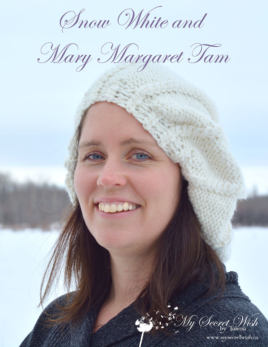Snow White and Mary Margaret Tam Knitting Pattern from www.mysecretwish.ca.