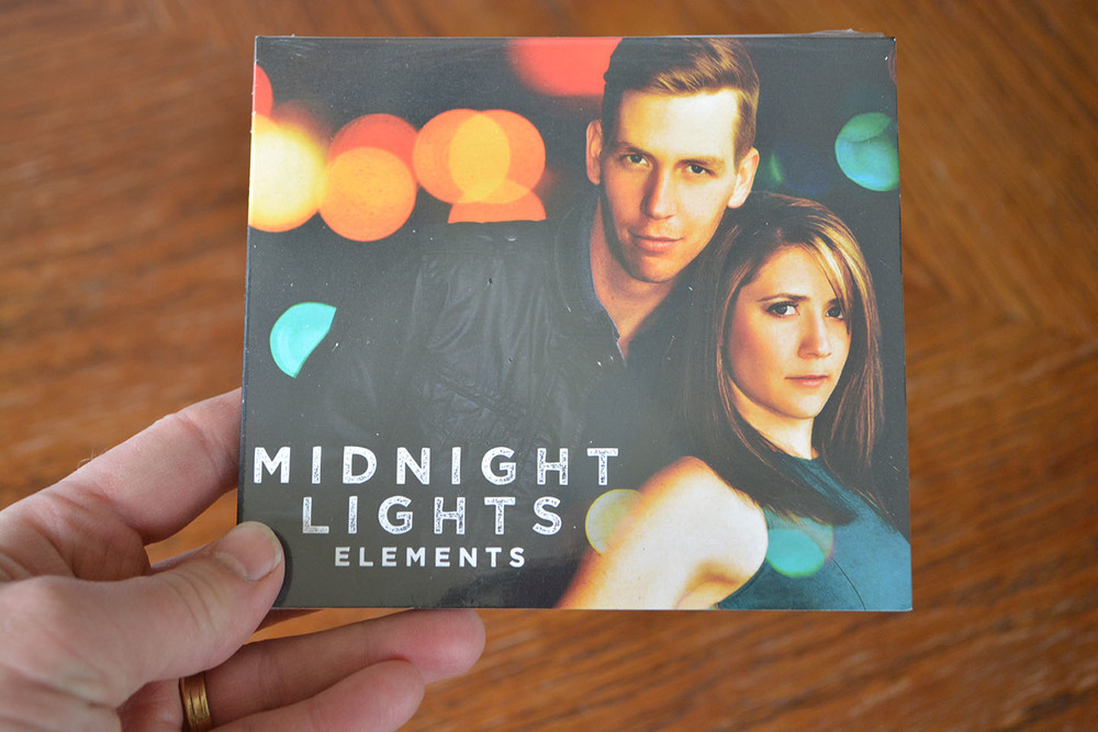 "Midnight Lights ""Elements"" EP, just released. Check it out at  www.midnightlightsmusic.com ."