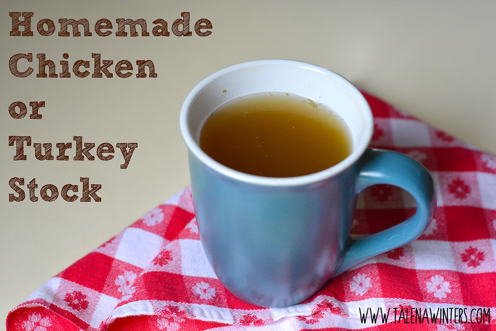 Homemade, healing bone broth from chicken or turkey. The fastest way to improve your cooking!